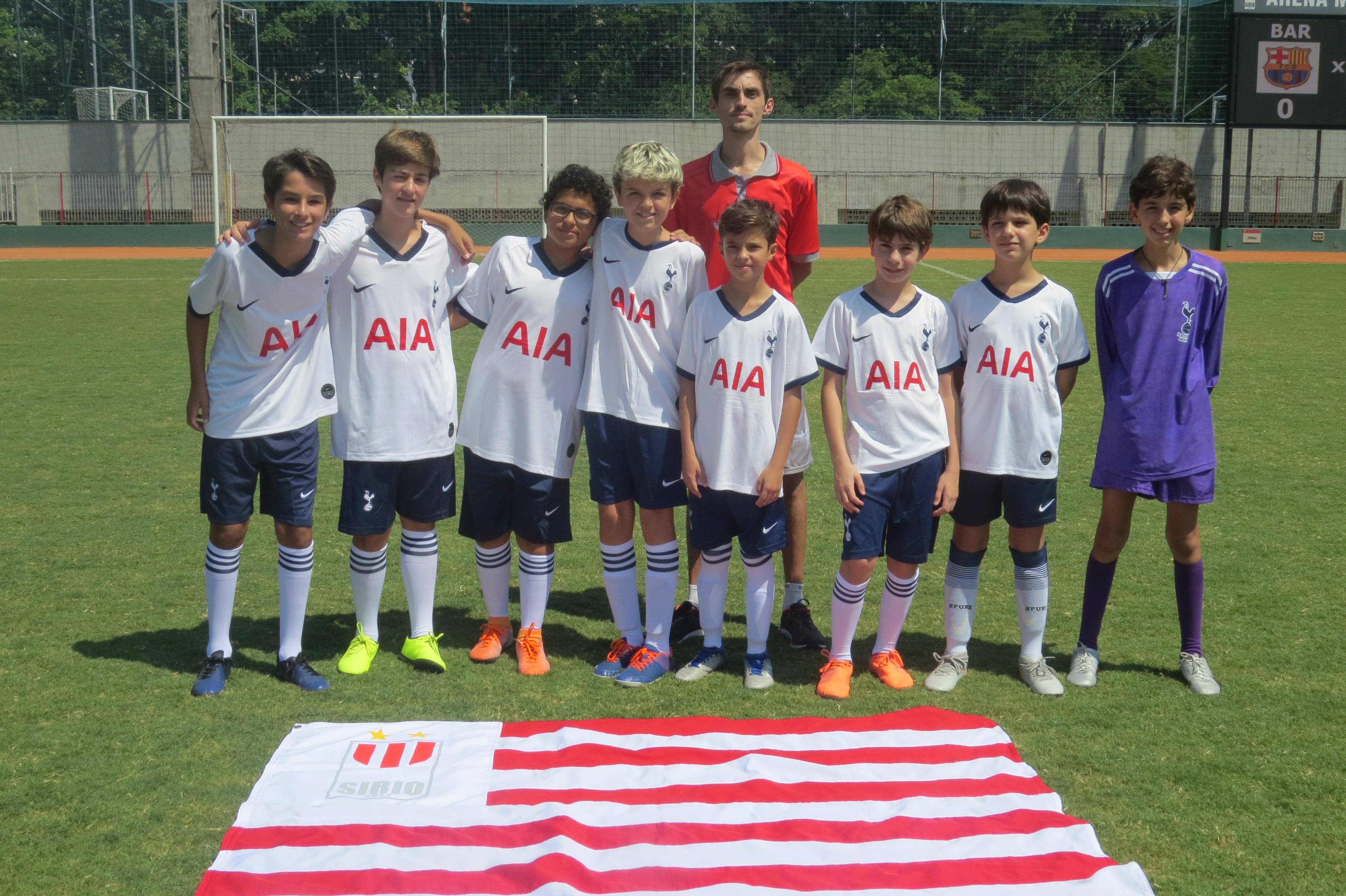 Infantil: Tottenham 9x2 Liverpool
